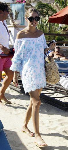 Olivia Palermo Beach Style
