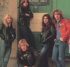 Iron Maiden - number of the beast line up. They were a pretty good traditional rock band.