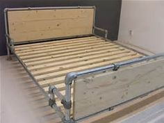 Beds Industrial Pipe, Tweepersoonsbed Vans, Industrial Pipe Bed ...
