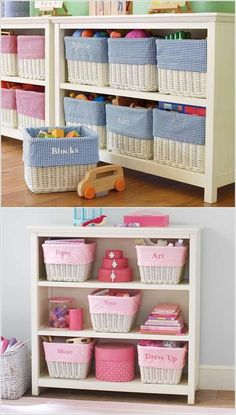 15 Clever Organization Ideas with a BookcaseWho doesn't love an organized and tidy home? If you also want to organize your home with a clever storage option then go for a bookcase. Storage Bins, Diy Storage, Room Organization, Diy Crafts To Sell, Home Crafts, Diy Bedroom Decor, Diy Home Decor, Organizing Your Home, Decoration