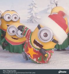 The perfect Minions Christmas Noel Animated GIF for your conversation. Discover and Share the best GIFs on Tenor. Gif Minion, Amor Minions, Minions Film, Minion Humour, Minions Images, Cute Minions, Minion Movie, Minions Despicable Me, Minions Quotes