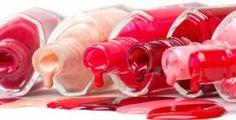 How to remove gel nail polish. Nail Polish Stain, Red Nail Polish, Bright Colored Nails, Dm Online Shop, Eyeliner Brush, Nail Games, Diy Beauty, Beauty Tips, Hair Hacks