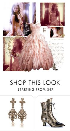 """""""Katherine Pierce 1864"""" by greerflower ❤ liked on Polyvore featuring Petralux and Demonia"""