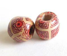 10+Perle+di+legno++FANTASY+di+Siria+su+DaWanda.com