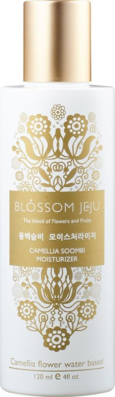 Blossom Jeju Camellia Soombi Moisturiser. This thirst quenching hydrator is lightweight but intensively replenishing flooding cells with much needed moisture to promote plumpness and instantly alleviate discomfort. #Moisturizer #Cult Beauty #Unisex #fashion #obsessory #fashion #lifestyle #style #myobsession