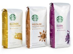Packaging of the World: Creative Package Design Archive and Gallery: Starbucks Blonde Roast