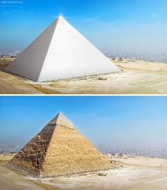 Ancient Egypt, Ancient History, Objets Antiques, Arte Judaica, Great Pyramid Of Giza, Pyramids Of Giza, Mystery Of History, Historical Monuments, Egyptian Art