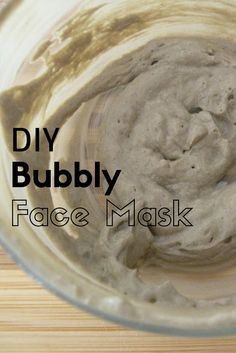A recipe for an easy, diy at home, bubbly face mask! MyHomeSong blog