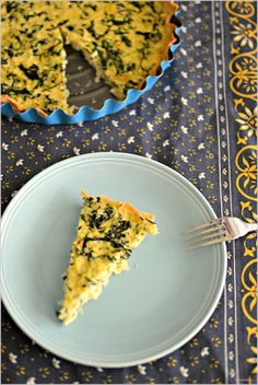 Sweet my Kitchen: Tarte de pescada e espinafres