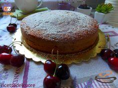 Torta alle ciliegie con farina di farro