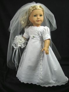 Summer Bride by DollClothesbyShirley on Etsy, $75.00