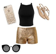 """""""Untitled #11"""" by giuliana-dametto on Polyvore featuring beauty, Miss Selfridge, Lanvin, Accessorize, Casetify and Quay"""