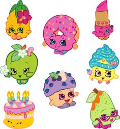Krafty Nook: Shopkins Fan Art (Set 1)