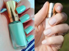 When it comes to nail shape, which do you prefer: square or rounded? Leave your answer below!