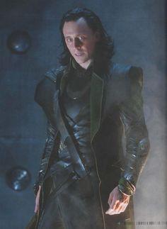 Loki (Tom Hiddleston) – The Avengers.
