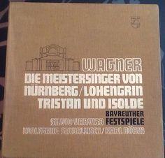 Wagner Meistersinger, Lohengrin, Tristan & Isolde 100 Jubiläumsedition Bayreuth | eBay Tristan Und Isolde, Meistersinger, Ebay, Bayreuth, Shopping