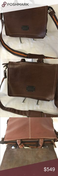 Bally crossbody bag/laptop bag Looks excellent has some gentle used. Bally Bags Messenger Bags
