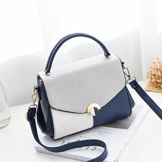 Hit Color Women Leather Bags Ladies Handbag Tote Tophandle Hand Bags Shoulder Messenger Bag Color Black Size – Purses And Handbags Totes Popular Handbags, Trendy Handbags, Fashion Handbags, Tote Handbags, Purses And Handbags, Fashion Bags, Leather Handbags, Gucci Handbags, Luxury Handbags