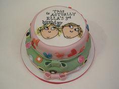 Charlie & Lola cake by Jellycakes, via Flickr.