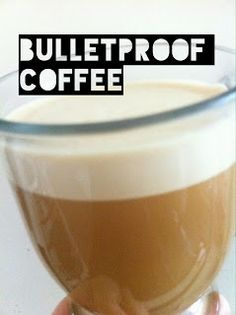 Gluten-Free & (mostly) Paleo Recipes: BITING THE BULLET PROOF COFFEE