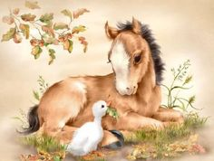 Penny Parker Images - pony & duck