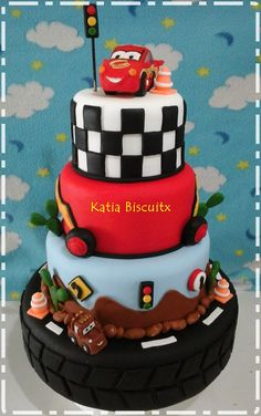 Cars Birthday Cakes for Boys pixar cars this was for a 1 year