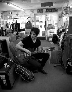 I love Jack White in all his incarnations... White Stripes, Raconteurs, Dead Weather and solo. Not to mention his lovely work with Loretta Lynn.