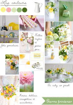 http://www.lamarieeauxpiedsnus.com/tag/mariage-vert-jaune-rose