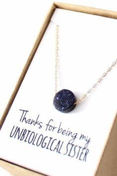 Midnight Blue Sparkle Pendant Necklace
