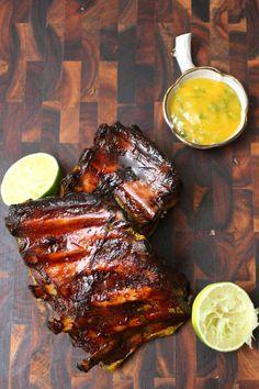 Recipe: Mango Glazed Pork Ribs