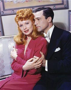 Lucille Ball & Gene Kelly for The Ziegfeld Follies