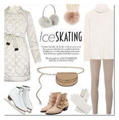 """Ice Skating Style"" by stellaasteria on Polyvore featuring Isotoner, Steffen Schraut, Chloé, The Row, Chanel, Inverni, Accessorize and iceskatingstyle"