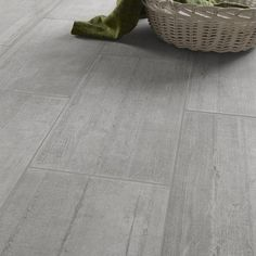 Carrelage intérieur Industry en grès cérame émaillé, gris, 30x60cm
