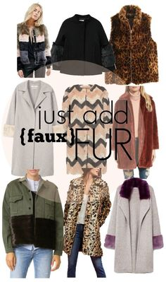 I feel like this is the year to get some really great faux fur. More just keep coming out and there is out there options and minimal tastes of fur. Fashion Articles, Fur Collars, All About Fashion, Wardrobes, Get Dressed, Travel Style, Capsule Wardrobe, Faux Fur, Autumn Fashion
