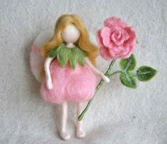 Hada del rosal.