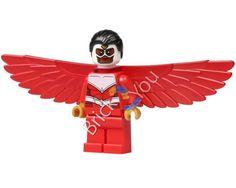 LEGO Falcon Minifigure from Hulk Lab Smash 76018 by Brick2you