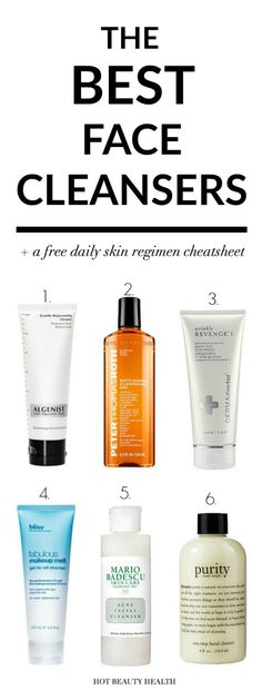 best face cleansers #CleanserForOilySkin Acne Facial, Facial Care, Sensitive Skin Care, Beauty Regimen, Face Skin Care, Dry Face, Best Face Products, Facial Products, Skin Products