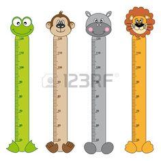Bumper children meter wall  Animals Stickers