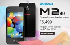 InFocus M2 4G Coming to India on July 24 for Just