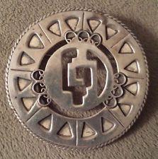 Vintage Sterling Silver Anton Taxco Mexico Brooch Pin Mexican 925