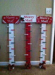 If you love crafts Christmas Wood Crafts, Christmas Signs, Rustic Christmas, Christmas Projects, Holiday Crafts, Holiday Fun, Christmas Holidays, Christmas Ornaments, Holiday Decor