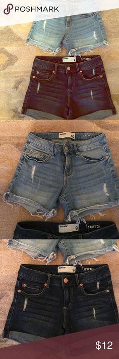 Denim Shorts Dark wash 0, Light wash 00 Garage Shorts Jean Shorts