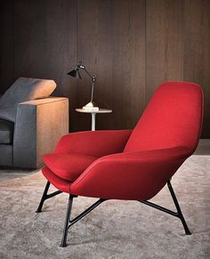 'Prince' armchair by Rodolfo Dordoni for Minotti The Milanese architect and designer Rodolfo Dordoni has realised this upholstered armchair Home Furniture, Modern Furniture, Furniture Design, Interior Desing, Interior Architecture, Sofa Design, Canapé Shabby Chic, Poltrona Design, Contemporary Armchair