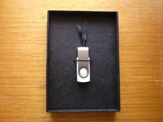 HOLD - Must pay for sample.  USB Box USB Flash Drive Box USB Packaging Flash by pieceofpaperuk