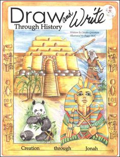 draw and write through history ancient - I'm going to use this next year!