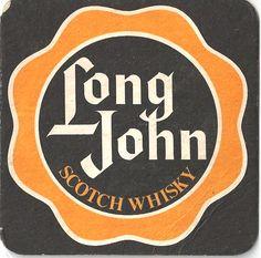 Long John Vintage Beer mat Beer Mats, Scotch Whisky, Drink Coasters, Trays, Vintage, Coasters, Beer Coasters, Scotch Whiskey, Coaster
