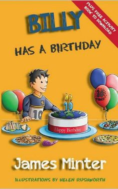 New Book Listed -  Billy Has A Birthday