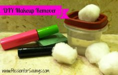 Find out how to make your own Makeup Remover!
