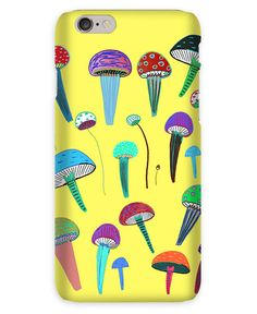 Mushrooms en Coque iPhone 6s par Ashley Percival | JUNIQE