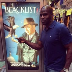 Hisham Tawfiq..a real-life NYC Fire Fighter as Dembe | Photo from Tumblr 2015